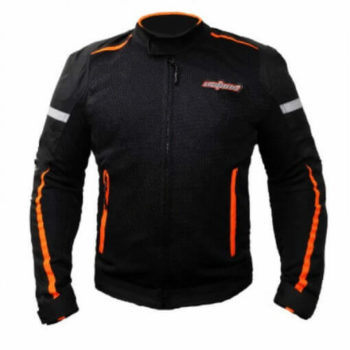 XDI Octane Black Orange Riding Jacket1