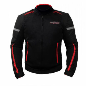 XDI Octane Black Red Riding Jacket1