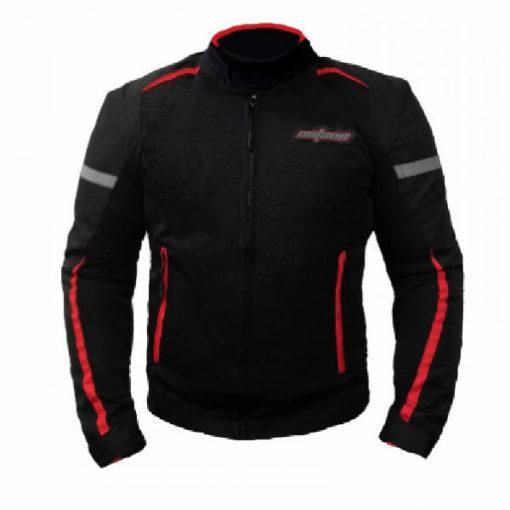 XDI Octane Black Red Riding Jacket1