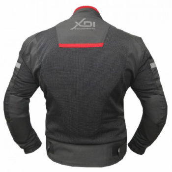 XDI Octane Black Red Riding Jacket2