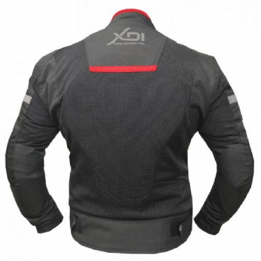 XDI Octane Black Red Riding Jacket2