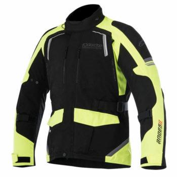 Alpinestars Andes Drystar Miltary Black Fluorescent Yellow Jacket