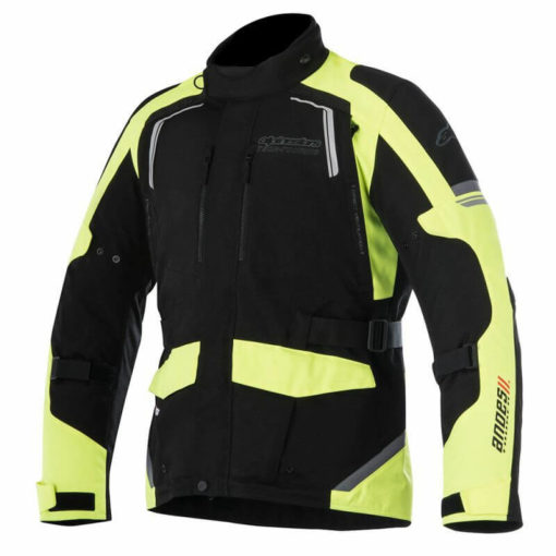 Alpinestars Andes Drystar Miltary Black Fluorescent Yellow Jacket