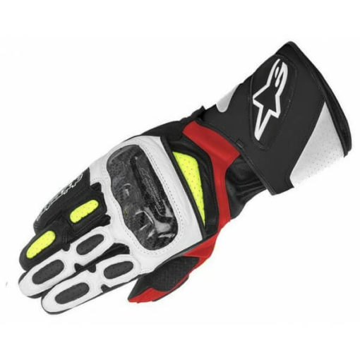 Alpinestars SP 2 Black White Yellow Red Riding Gloves11