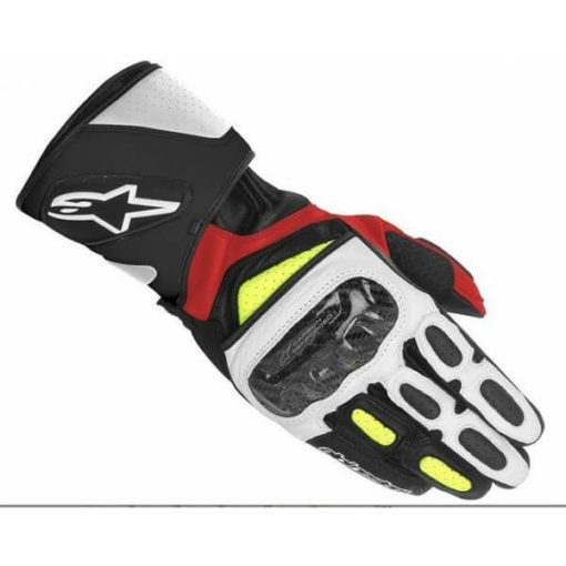 Alpinestars SP 2 Black White Yellow Red Riding Gloves21