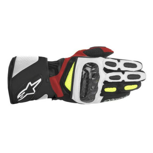 Alpinestars SP 2 Black White Yellow Red Riding Gloves31