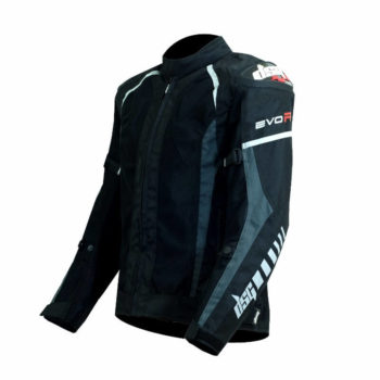 DSG Evo R Black Anthracite Riding Jackets2