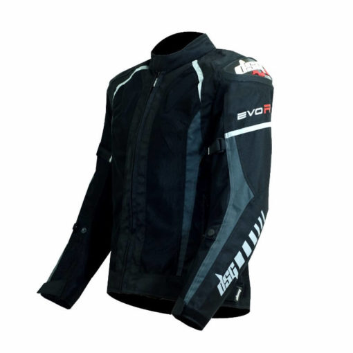 DSG Evo R Black Anthracite Riding Jackets2