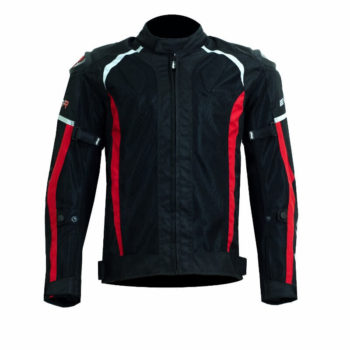 DSG Evo R Black Red Riding Jackets