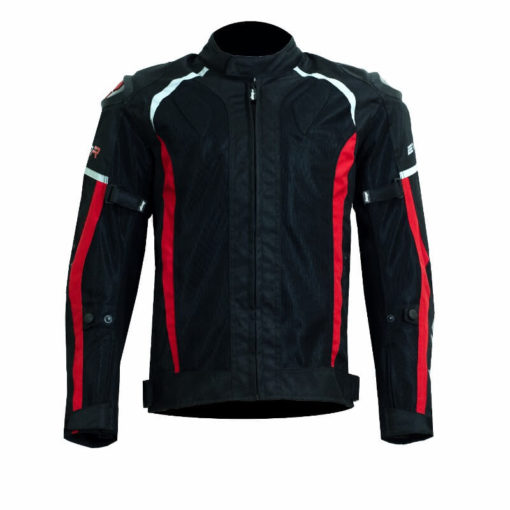 DSG Evo R Black Red Riding Jackets