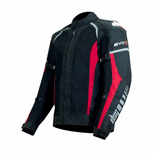 DSG Evo R Black Red Riding Jackets2