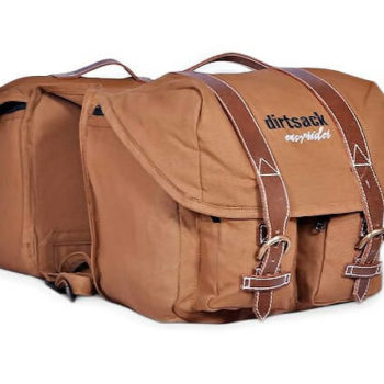 Dirtsack Long Ranger Easyrider Khaki Saddle Bag
