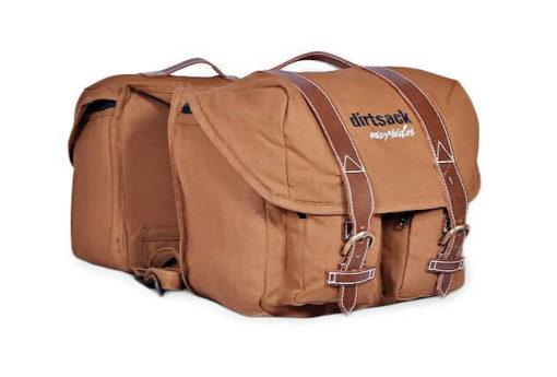 Dirtsack Long Ranger Easyrider Khaki Saddle Bag