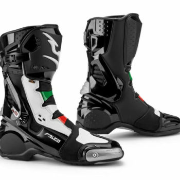 Falco Eso Lx 2.1 Italia Black White Riding Boots