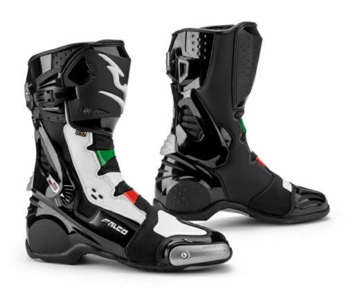 Falco Eso Lx 2.1 Italia Black White Riding Boots