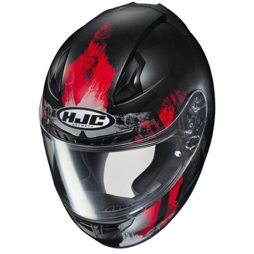 HJC CL 17 Arica MC1SF Matt Black Red Full Face Helmet