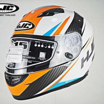 HJC CS 15 Kane MC7 Matt White Orange Black Full Face Helmet