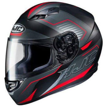 HJC CS 15 TRION MC1SF Matt Black Red Grey Full Face Helmet