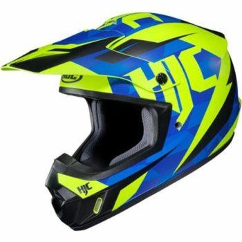 HJC CS MX2 DAKOTA MC2SF Matt Blue Green Black Flip Up Helmet