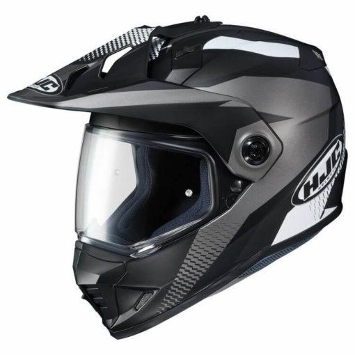 HJC DX X1 AWING MC5SF Matt Black White Grey Full Face Helmet