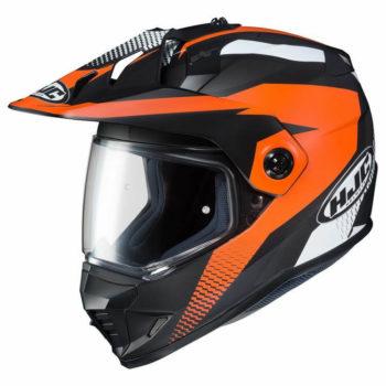 HJC DX X1 AWING MC7SF Matt Black Orange White Full Face Helmet