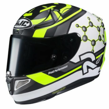 HJC RPHA 11 IANNONE 29 MC4SHF Matt Black Yellow White Full Face Helmet1