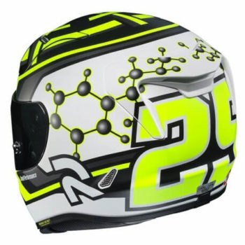 HJC RPHA 11 IANNONE 29 MC4SHF Matt Black Yellow White Full Face Helmet2