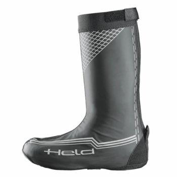 Held Boot Skin Long Waterproof Over Matt Black Riding Boots