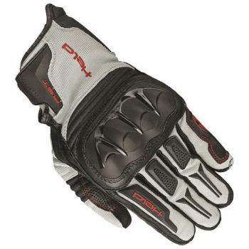 Held Sambia Adventure Black Grey Red Riding Gloves