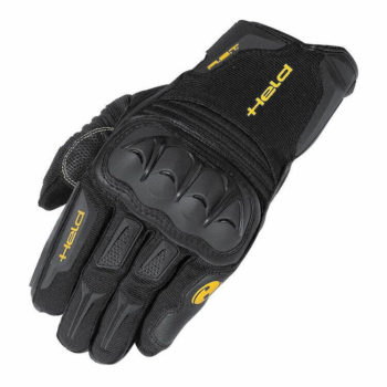 Held Sambia Adventure Black Riding Gloves