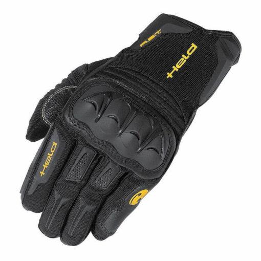 Held Sambia Adventure Black Riding Gloves