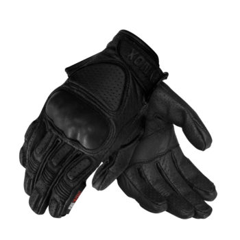 Rynox Scout Black Riding Gloves