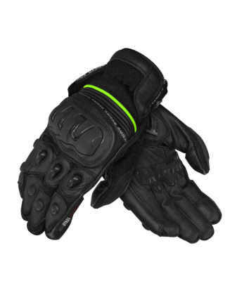 Rynox Shield SPS Pro Black Riding Gloves