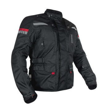 Rynox Stealth Evo V3 L2 Black Riding Jacket
