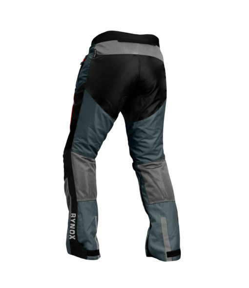 Rynox Storm Evo Black Grey Riding Pants1