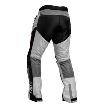 Rynox Storm Evo Black Off White Riding Pants1