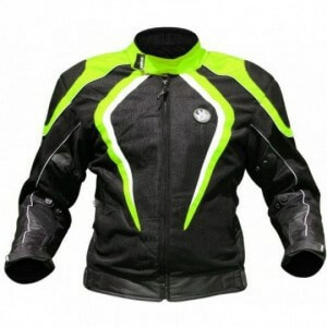 Rynox Tornado Pro V2 Black Fluorescent Green Riding Jacket