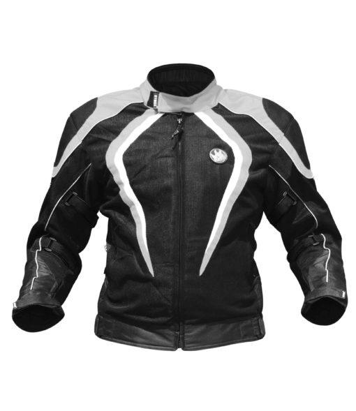 Rynox Tornado Pro V2 Black Grey Riding Jacket