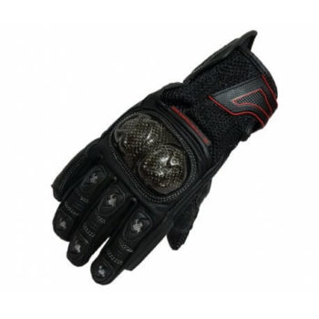 XDI Torque Black Riding Gloves