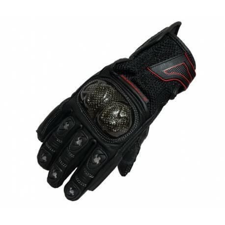 XDI Torque Black Riding Gloves