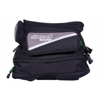 Dirtsack Forester Neo Expandable Black Grey Tank Bag 2