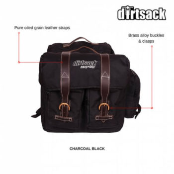 Dirtsack Long Ranger Easyrider Black Saddle Bag2
