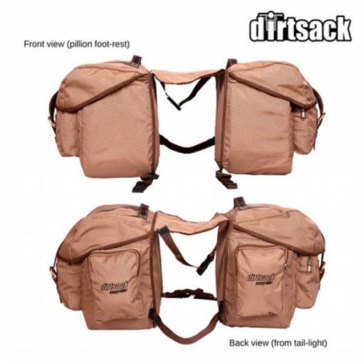 Dirtsack Long Ranger Easyrider Desert Khaki Saddle Bag3