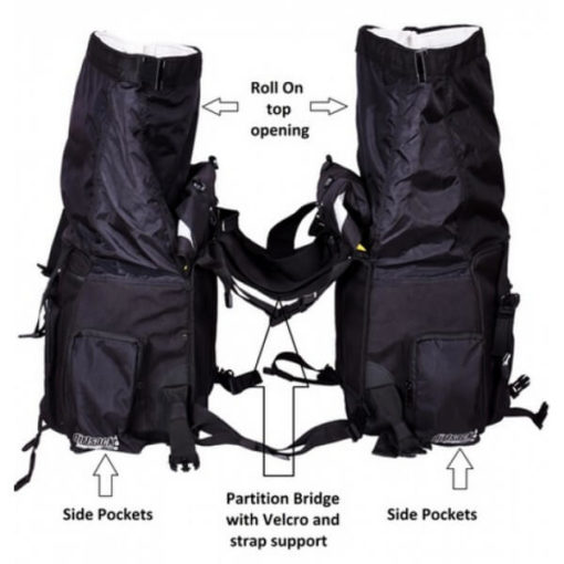 Dirtsack Long Ranger Pro Waterproof Black Saddle Bag3