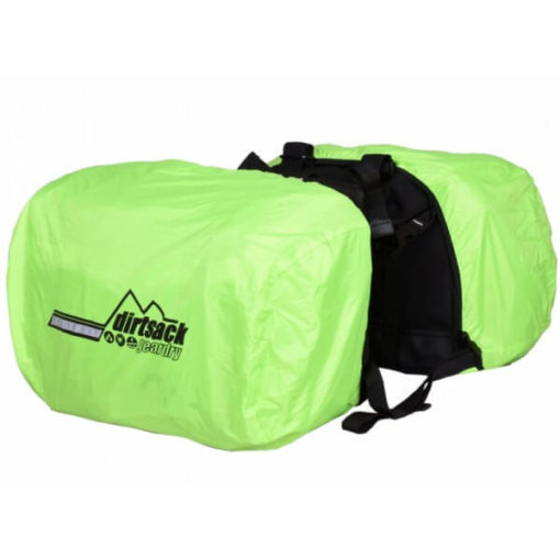 Dirtsack Long Ranger Pro Waterproof Black Saddle Bag4