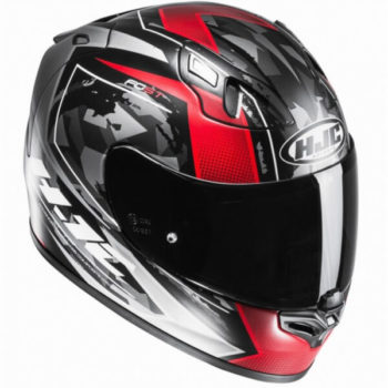 HJC FG ST Kume MC1SF Matt Red Black Grey Full Face Helmet 2