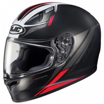 HJC FG17 Valve MC1SF Matt Black White Red Full Face Helmet