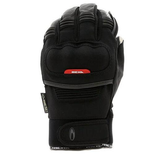 Richa City GTX Black Riding Gloves1