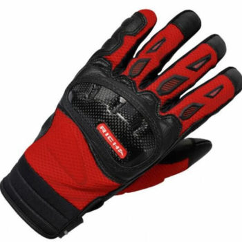 Richa Torsion Black Red Riding Gloves