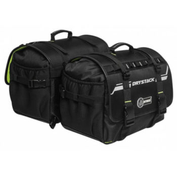 Rynox Drystack Waterproof Black Saddle bags